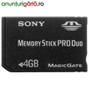 Imagine anunţ Vand SONY Memory Stick Pro Duo, 4 Gb -doar 140 Ron!!!