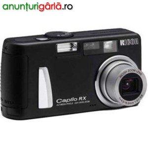 Imagine anunţ Aparat foto RICOH CAPLIO RX--3.2mp nou 250 RON