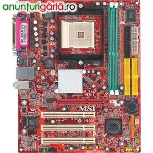Imagine anunţ Placi de baza MSI K8MMV-noi sigilate 90 RON