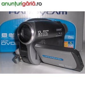 Imagine anunţ sony pe mini-DVD ++noua 890 RON