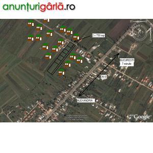Imagine anunţ Loturi intre Vile, Bucuresti, 80 E/mp