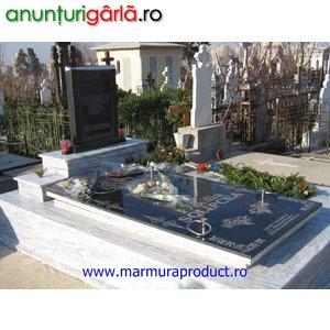 Imagine anunţ Cruci, monumente funerare din  marmura si granit