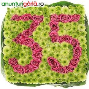 Imagine anunţ Flori aniversare