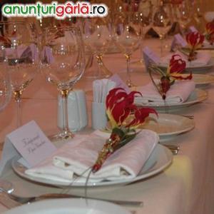 Imagine anunţ Flori pentru masa