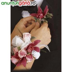 Imagine anunţ Flori pentru nunta