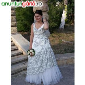 Imagine anunţ vand rochie de mireasa