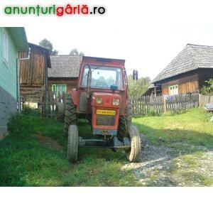 Imagine anunţ Vand tractor 4x4+2 remorci