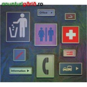 Imagine anunţ Gravura placi, plachete, placute usa, indicatoare