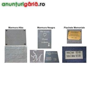 Imagine anunţ Inscriptiune Marmura, Pahare si Oglinzi Auto