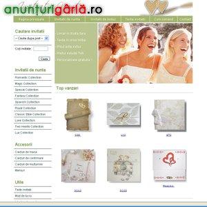 Imagine anunţ InvitatiiNunta.ro - accesorii nunta