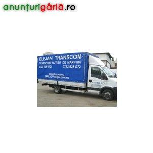 Imagine anunţ Relocari, transporturi marfa in toata tara, mutari