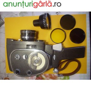 Imagine anunţ Aparat filmat de colectie pe 8 mm, Quart