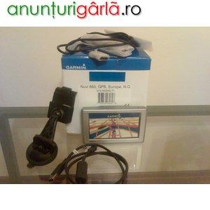 Imagine anunţ Vand GPS Garmin Nuvi 650 Nou+RO.A.D 2008
