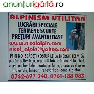 Imagine anunţ ALPINISM UTILITAR