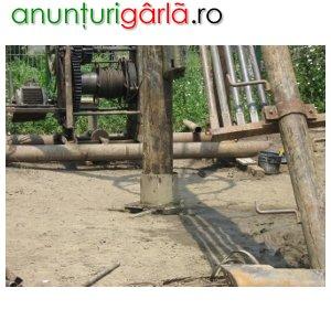 Imagine anunţ Executam foraje alimentare apa, deznisipari