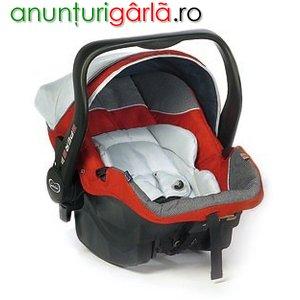 Imagine anunţ Scaun autovehicul Giordani 3PER8 izofix Red 0-13kg