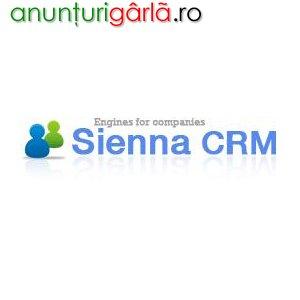Imagine anunţ Software Sienna CRM, Software ce gestioneaza clientii, relatiile cu clientii , etapele vanzarilor produselor si serviciilor , documentele companiei, taskurile si programarile pentru fiecare angajat din pohb6