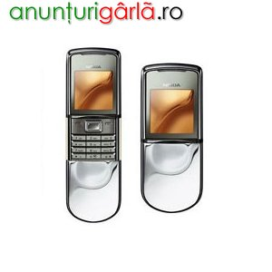 Imagine anunţ VAND NOKIA 8800 SIROCCO WHITE SIGILAT ACUM LA DOAR 299 E -CELLGSM
