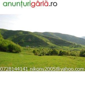 Imagine anunţ Vand teran zona turistica Gura Raului - Marajdie