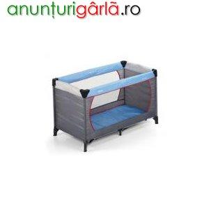 Imagine anunţ vand pat bebelus pliant la super pret!!!!!
