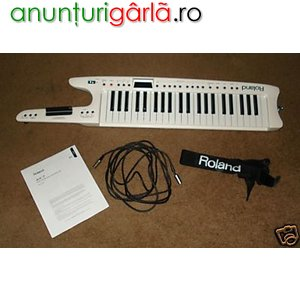 Imagine anunţ vind keybord roland ax7 remote midi 1250euro
