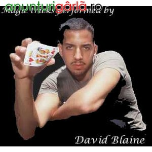 Imagine anunţ Trucuri magice explicate video de David Blaine, Criss Angel etc