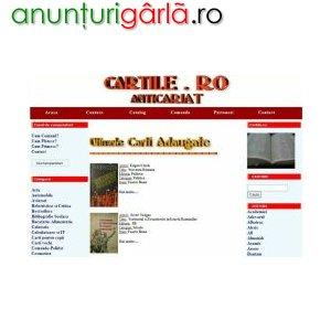 Imagine anunţ Carti online