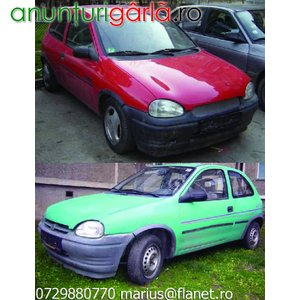Imagine anunţ Doua Opel Corsa B an 1995 nerulate in tara