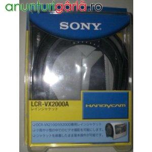 Imagine anunţ HUSA PLOAIE ORIGINALA SONY LCR-VX2000