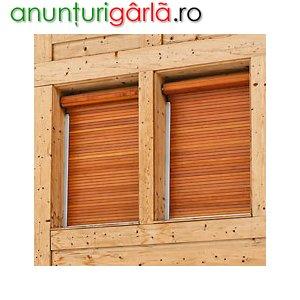 Imagine anunţ Rulouri (rolete) exterioare din lemn