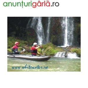 Imagine anunţ Ture de rafting si turism de aventura in Romania