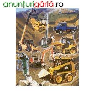 Imagine anunţ Utilaje second hand pentru constructii