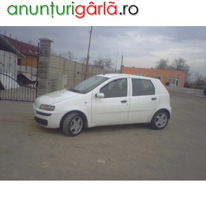Imagine anunţ Vand urgent Fiat Punto loc.Alesd