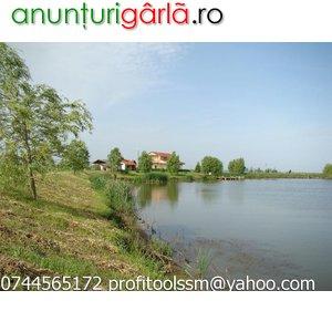 Imagine anunţ vand lac 17 ha si teren 9 ha plus casa
