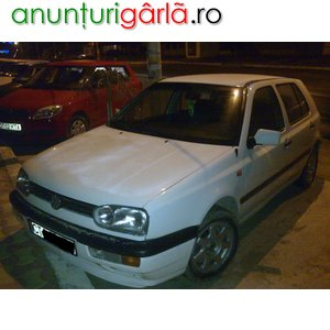 Imagine anunţ vand vw golf 3