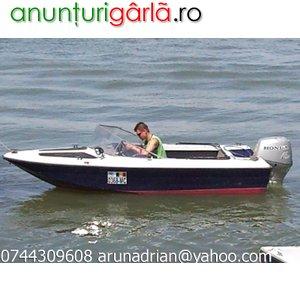 Imagine anunţ Barca cu motor 40cp 4 timpi