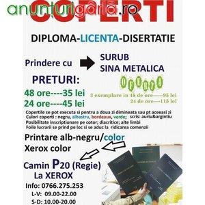 Imagine anunţ COPERTI LUCRARI DE DIPLOMA-LICENTA-DISERTATIE