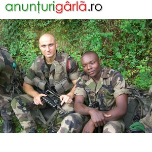 Imagine anunţ Fost combatant in Legiunea Straina caut loc de munca
