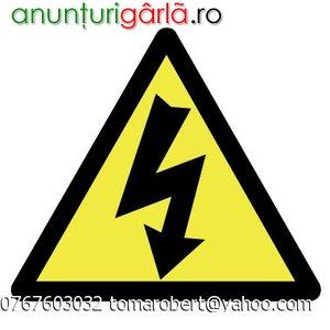 Imagine anunţ INSTALATII ELECTRICE reparatii tablouri impamantari