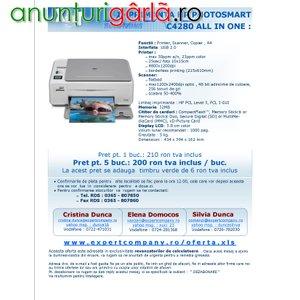 Imagine anunţ Vand Imprimanta multifunctionala HP Photosmart C4280 ALL IN ONE