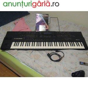 Imagine anunţ Vand Roland g1000 cu hdd superb + accesorii 750 eur
