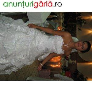 Imagine anunţ inchiriez rochie de mireasa