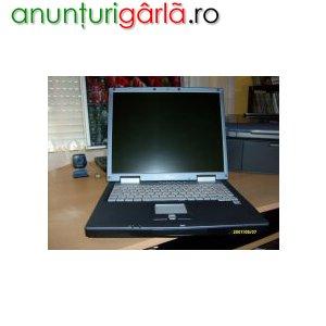 Imagine anunţ vand laptop pentium 4 pret 7mil