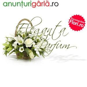 Imagine anunţ Flori oriunde in Romania