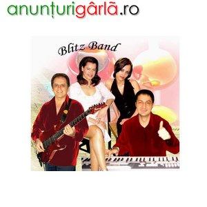 Imagine anunţ Formatie Blitz Band