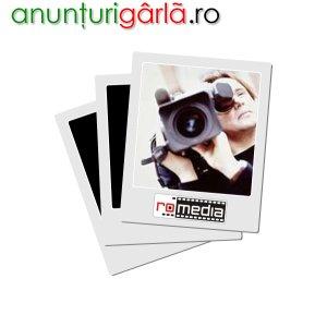 Imagine anunţ RoMedia Oradea: Dublaj voce, sincron, filmari, editare