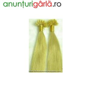 Imagine anunţ Vand extensii par natural REMY HAIR GRAD A 2RON