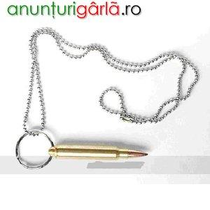 Imagine anunţ Vand lantisor cu glont mare-48 lei