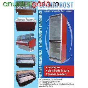 Imagine anunţ vitrine frigorifice