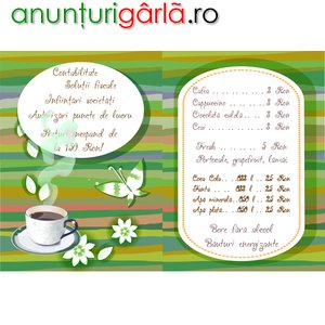 Imagine anunţ Nou!S-a deschis Conta Cafe!!Piatra Neamt, Bd.Traian nr. 76, Bl. H1